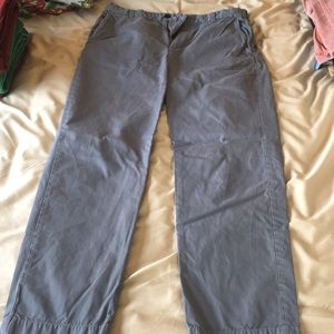 Grey Brooks Brothers Chino Pants